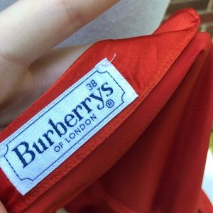 Burberry Tops - Vintage Burberry Burnt Orange Blouse Size 38